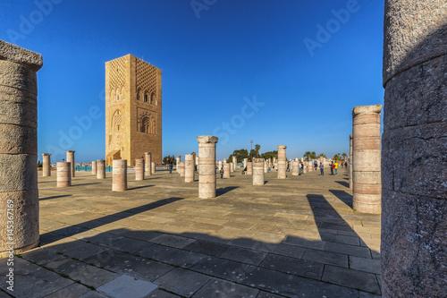 Papiers peints Maroc Hassan Tower in Rabat, Morocco