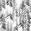 Materiał do szycia Herringbone seamless pattern. Vector illustration of ink hand drawn texture. Abstract background.