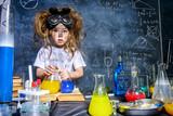 Fototapety dangerous laboratory test