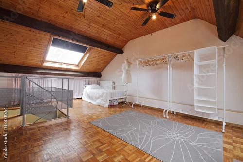 Plagát chambre aménagée sous le toit