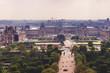Le Louvre et jardin des Tuileries