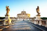 Castel Sant'Angelo at dawn, Rome