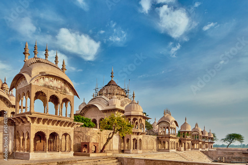 Poster Kusum sarovar ancient abandoned temple in India UP