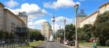 Berlin / Karl-Marx Allee und Fernsehturm