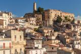 Town of Cammarata in Central Sicily in Spring 2017