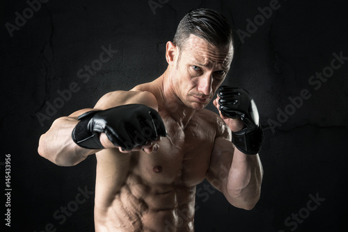 Poster MMA athlete