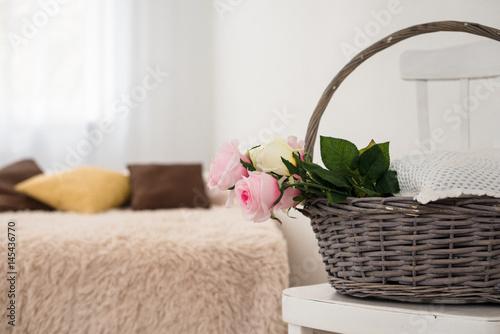 Plagát Light bedroom interior