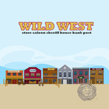 Wild West Landscape Template