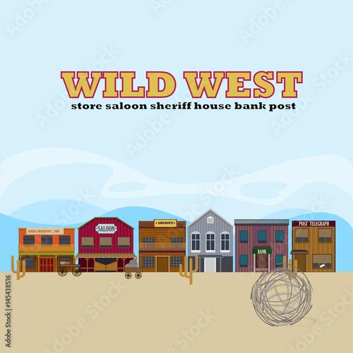 Wild West Landscape Template