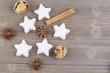 Kekse zu Weihnachten - 145444579
