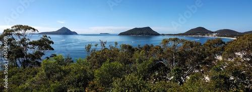Plage de Port Stephens, Nouvelle Galles Du Sud, Australie - 145444509
