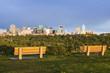 Panorama of Edmonton at sunrise
