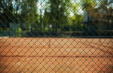 Fence of a Tennis Court - 145458710