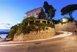 Curvy roads of Nice