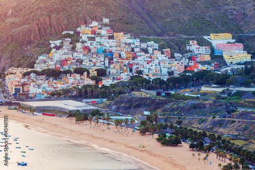 Poster Canarische Eilanden San Andres panorama