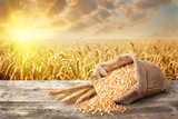 still life bulgur wheat - 145467505