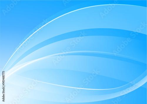 blue background concept