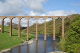 bridge over river Tweed near Melrose towards Gattonside