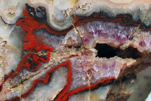 naturalna agatowa tekstura