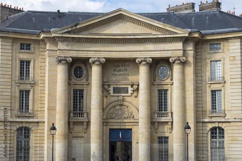 Poster Faculté de droit, Paris, France