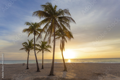 Sunrise at the beach in Florida