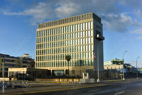 The Embassy of the United States of America in Havana