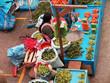 Women in the market in Urubamba in the Sacred Valley near Machu Picchu, Cusco