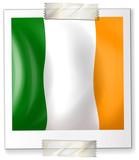 Badge design for Ireland flag