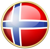 Icon design for Norway flag