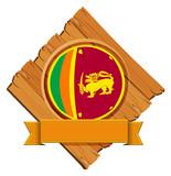 Icon design for flag of Sri Lanka