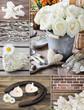 Dekoration - Rosen und Kerzen