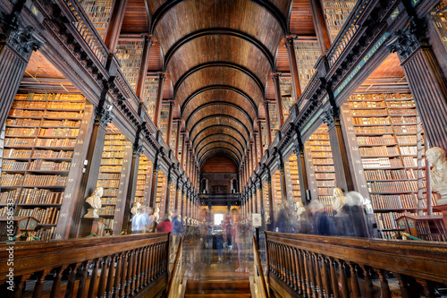 trinity college library, Dublin Poster