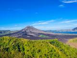 View on Batur Volcano, Bali island, Indonesia.