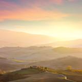 Sunny Tuscany landscape