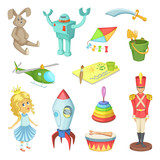 Cartoon  Toys For Kids Boys And Girls Funny  Icons Wall Sticker