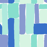Abstract Brush Strokes Pattern - 145610178