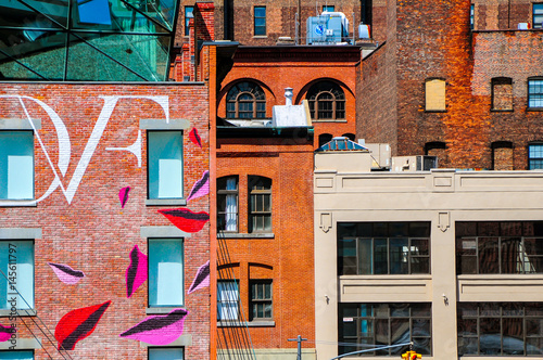 View from the High Line, Chelsea, New York Poster