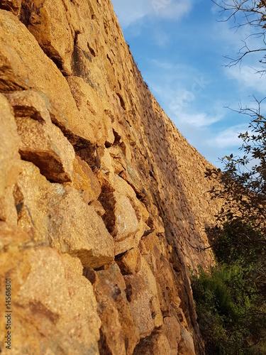 mur pierres Poster