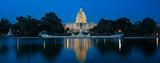 United States Capitol Panorama at Night - 145641387