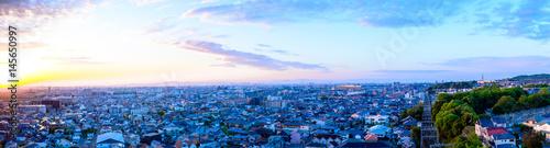 Staande foto Blauw 都市風景 日本 住宅街