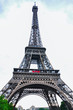 View on Eiffel Tower at daytime. Paris, France