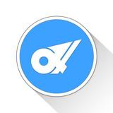 Mie Button Icon Business Concept