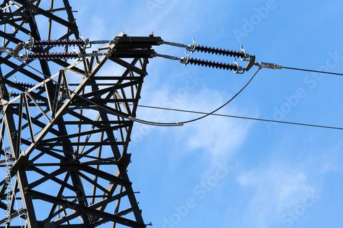 Strom - Elektrizität - Hochspannung Poster