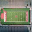 Aerial Rutgers Football Stadium