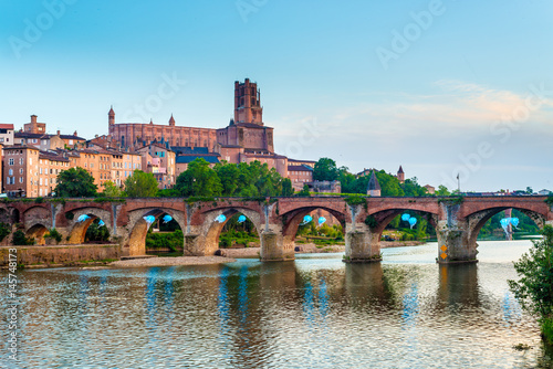Poster 22nd of August 1944 Bridge in Albi, France