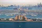 Dubai Atlantis Hotel Palm Jumeirah Palm Island zdjęcie lotnicze