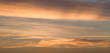 orange leuchtender Himmel nach Sonnenaufgang
