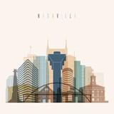 Nashville skyline de...