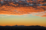 Sunrise over Cooke's Peak in southern New Mexico