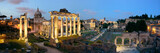 Rome Forum night panorama - 145798104